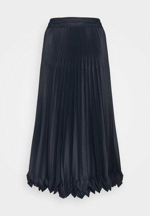 PLEATED SKIRT - Áčková sukně - midnight