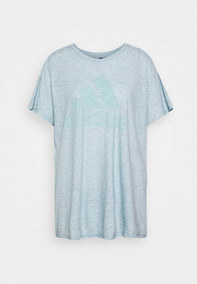 WIN TEE - T-shirt med print - mint