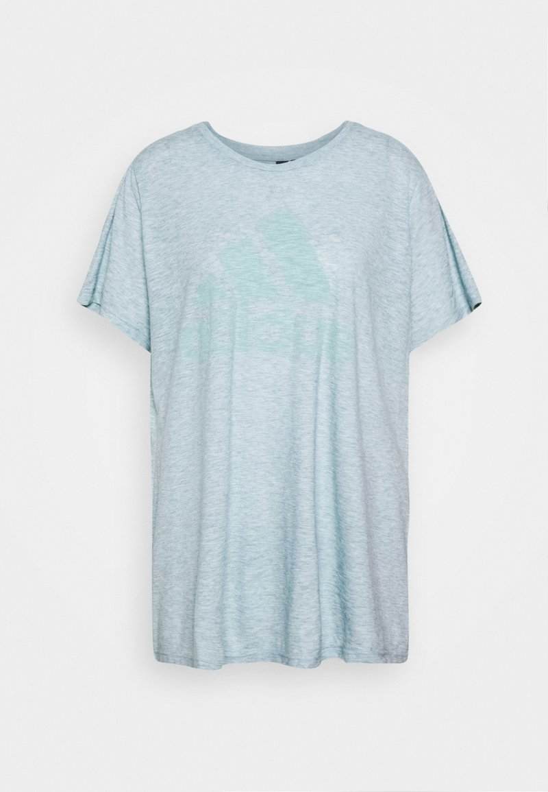adidas Performance - WIN TEE - Print T-shirt - mint