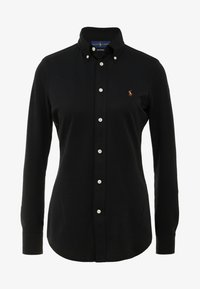Polo Ralph Lauren - HEIDI LONG SLEEVE - Button-down blouse - black - 4