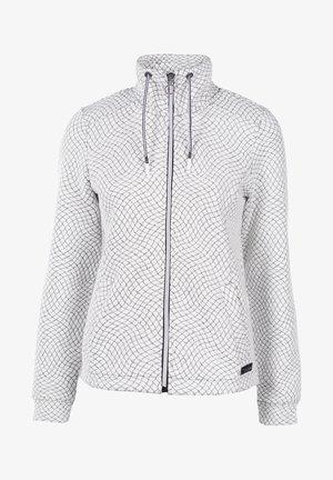 Zip-up hoodie - white