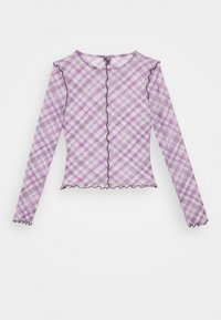 BDG Urban Outfitters - CHECK LETTUCE  - Blouse - lilac - 1