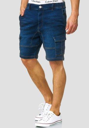 Jeansshort - dark blue