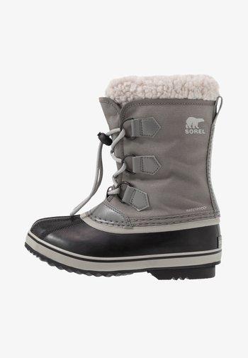 YOUTH YOOT PAC UNISEX - Zimní obuv - quarry/dove