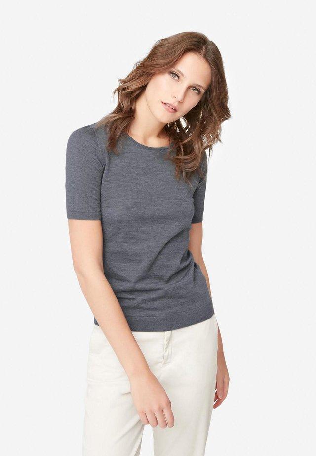 ULTRALIGHT - Basic T-shirt - dark mel gray