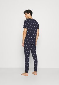 Jack & Jones - JACJASON SET - Pyjamas - maritime blue - 2