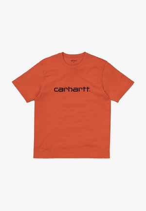 Print T-shirt - pepper   black
