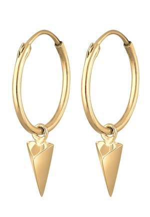 DREIECK GEO  - Earrings - gold coloured