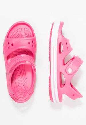 CROCBAND II - Pool slides - paradise pink/carnation