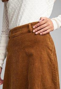 Nümph - NUMEGHAN - A-snit nederdel/ A-formede nederdele - bronze - 0