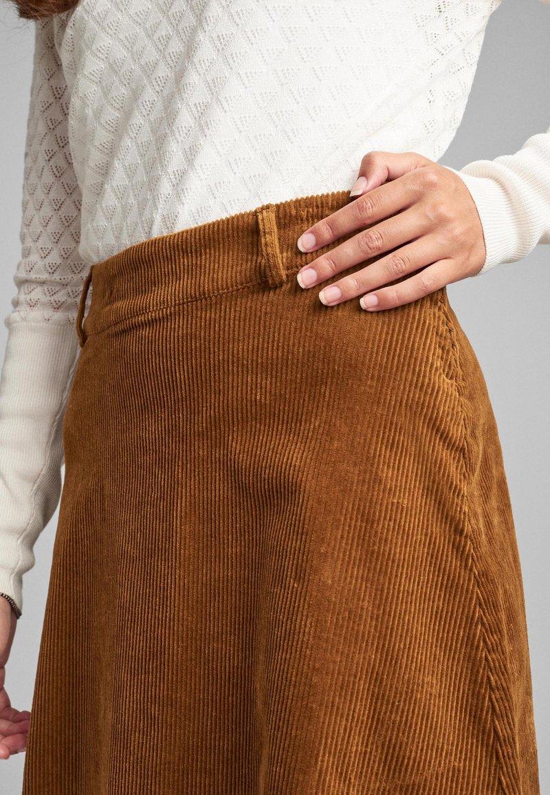 Nümph - NUMEGHAN - A-snit nederdel/ A-formede nederdele - bronze
