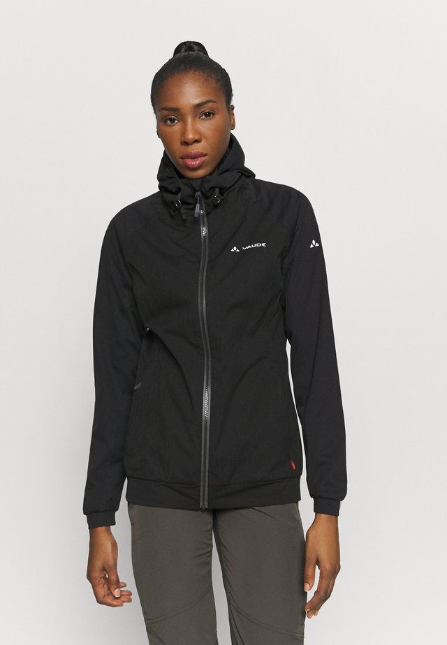 WOMENS CYCLIST JACKET  - Vodotěsná bunda - black