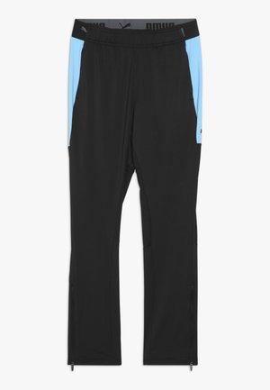 Teplákové kalhoty - black/luminous blue