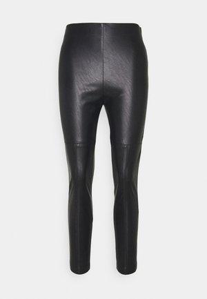 ANSELMO  - Spodnie materiałowe - black