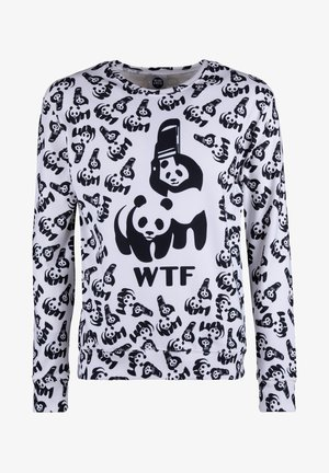 Sweatshirt - white/black