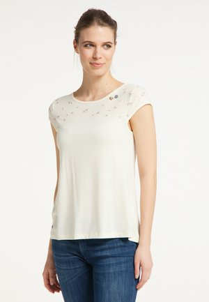 ESET - Print T-shirt - off white