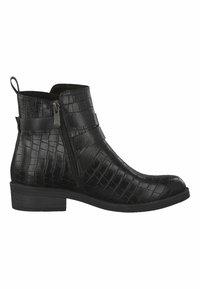 Marco Tozzi - STIEFELETTE - Ankle boots - black cro.com. - 4