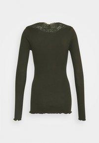 Rosemunde - Long sleeved top - black green - 1