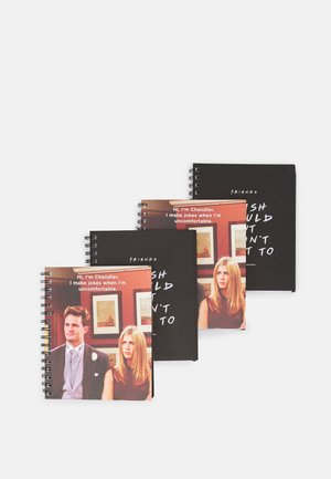 A5 CAMPUS NOTEBOOK 4 PACK UNISEX - Other accessories - multicoloured