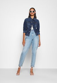 G-Star - 3301 SLIM - Jeansjakke - faded stone - 1