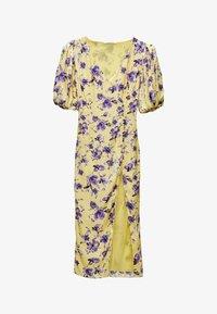 Uterqüe - Day dress - yellow - 4