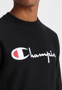 Champion Reverse Weave - Collegepaita - black - 5