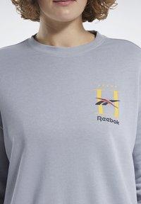 Reebok Classic - CLASSICS HOTEL CREW SWEATSHIRT - Sweatshirt - grey - 4