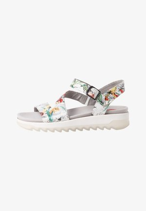 Sandals - white/flower