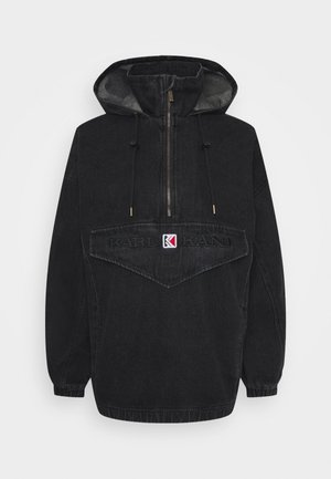 RETRO WASHED  - Windbreaker - black