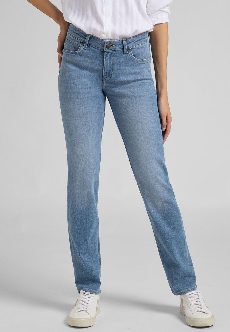 Lee - MARION  - Straight leg jeans - light blue