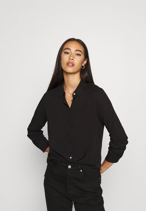 OBJBAYA - Button-down blouse - black