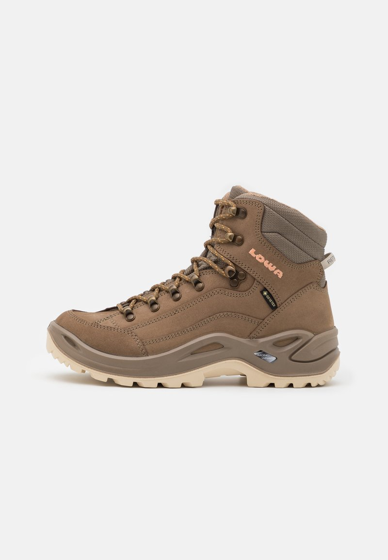 Lowa - RENEGADE GTX MID - Hiking shoes - sand/apricot