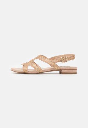 GLAM CORNER - Sandals - platinum