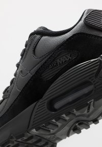 Nike Sportswear - AIR MAX 90 - Sneakersy niskie - black/white - 2