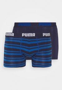 Puma - HERITAGE STRIPE 2 PACK - Culotte - blue - 3