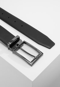 BOSS - OMAROSYN  - Belt business - black plain - 2