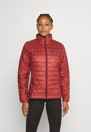Outdoor jacket - spanish red