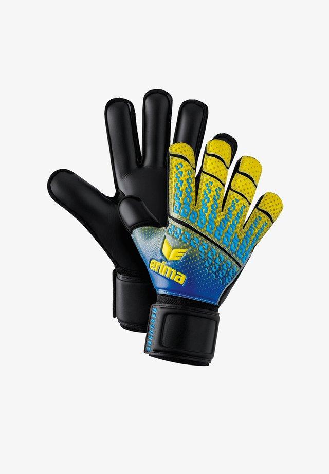 Goalkeeping gloves - gelbblau