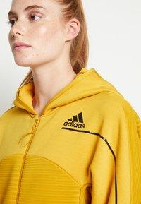 adidas Performance - W ZNE A H C.RDY - Sports jacket - leg gold - 6