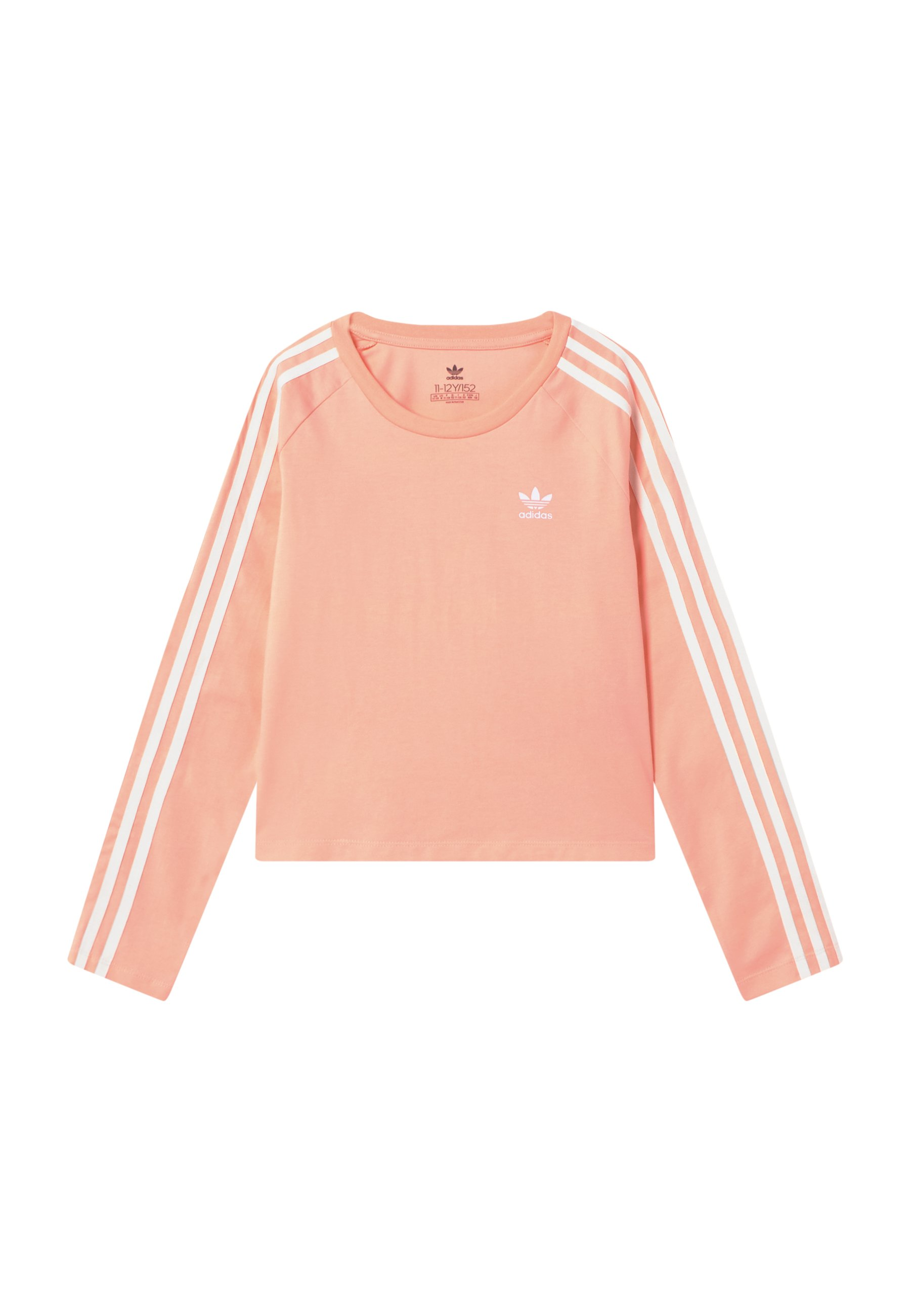Adidas Originals 3 Stripes - Topper Langermet Hazcor/white