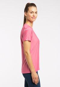 Haglöfs - Basic T-shirt - tulip pink - 2