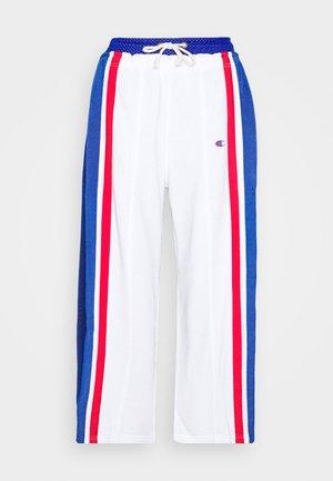 WIDE LEG PANTS - Pantaloni sportivi - white