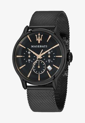 EPOCA - Chronograph watch - black