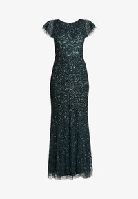 Maya Deluxe - ALL OVER EMBELLISHED DRESS - Occasion wear - emerald - 6