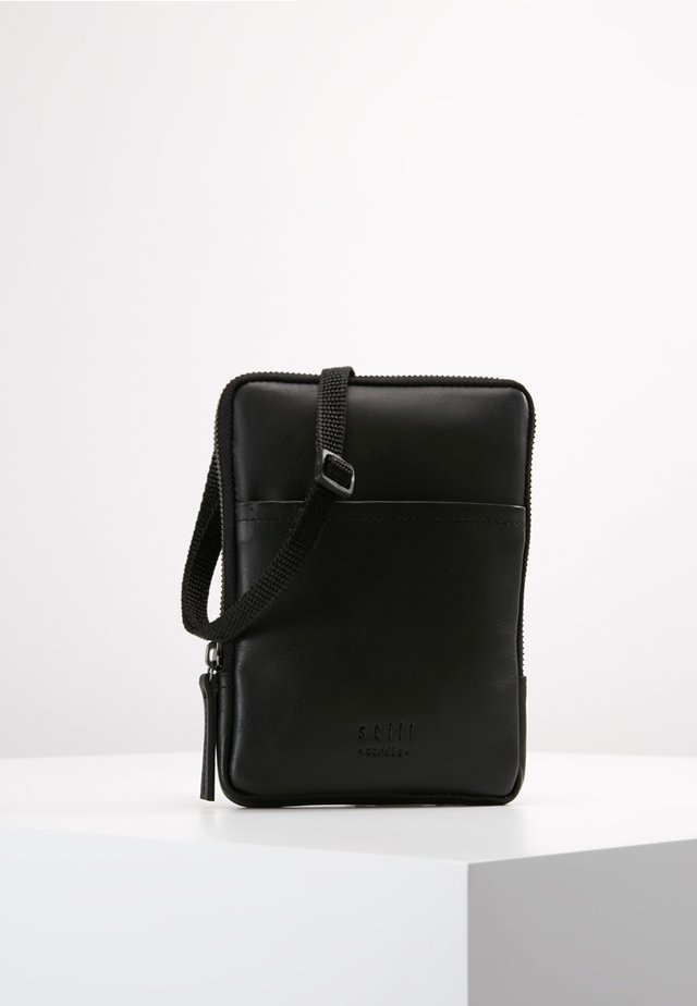 CLEAN MINI - Borsa a tracolla - black