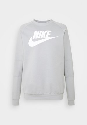 MODERN - Sweatshirt - smoke grey/white
