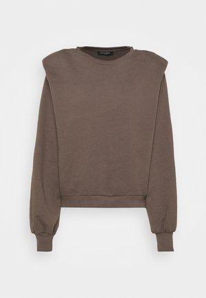 COMFY HELLA - Sweatshirt - major brown