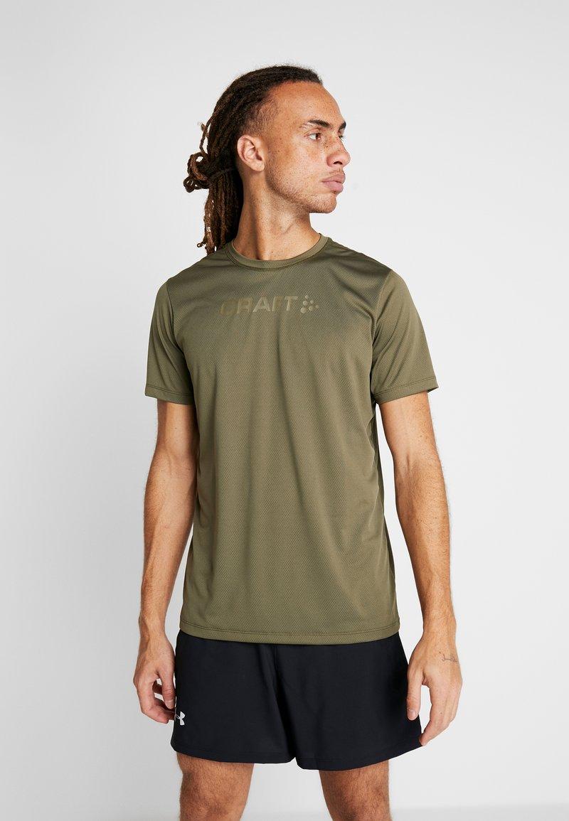 Craft - CORE ESSENCE TEE  - Print T-shirt - rift