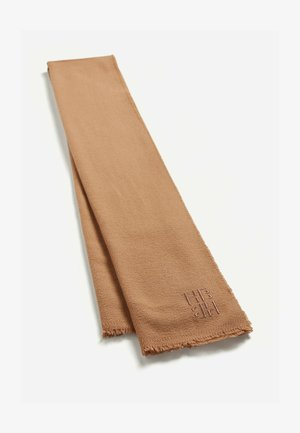 Scarf - light brown