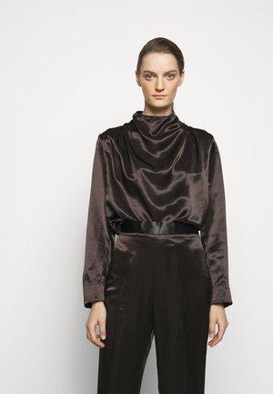 SOLONA - Long sleeved top - black